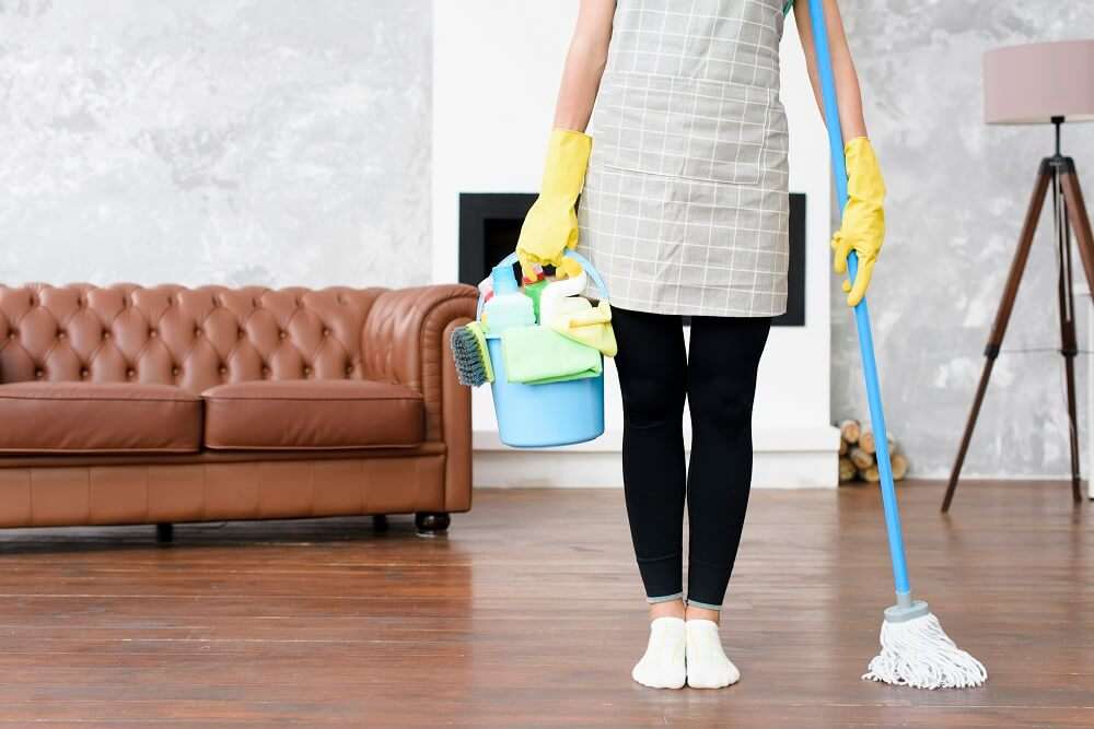 living room cleaning tips